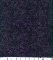 Premium Cotton Fabric-Small Floral Plum, , hi-res