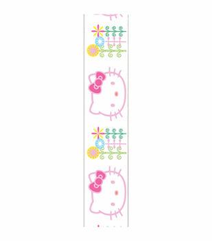 Hello Kitty Flowers Ribbon