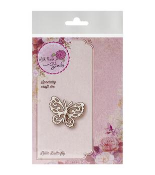 "Wild Rose Studio Specialty Die 1.35""X1.75""-Little Butterfly"