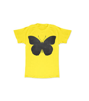 Yellow Butterfly Chalk Tee