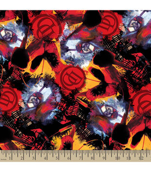 Marvel Comics Villians Daredevil Cotton Fabric