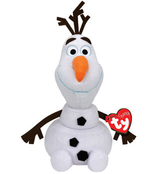 "Ty Disney Frozen Olaf Snowman Medium 13"""