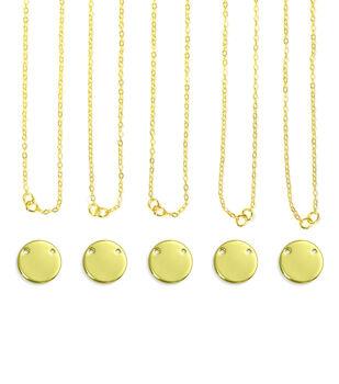 ImpressArt Personal Impressions Large Gold Circle