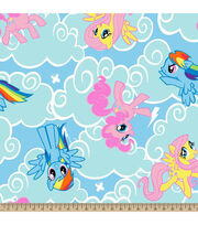Hasbro® My Little Pony® Cloud Toss Fleece Fabric, , hi-res