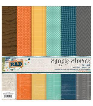 Simple Stories So Rad 6pcs Simple Basics Kit