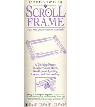 "Homecrafters Deluxe Hardwood Scroll Frame 6"" x12"""