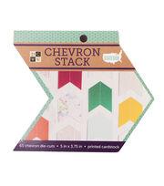 DCWV Stateside Die Cut Stack-Chevron, , hi-res