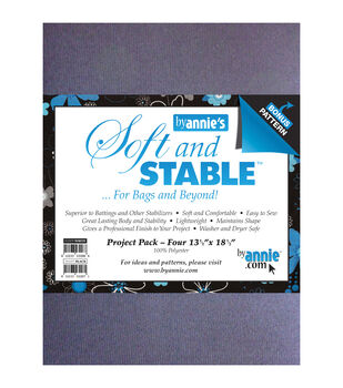 """Soft And Stable Project Pack 13-1/2""""x18-1/2""""-White"""