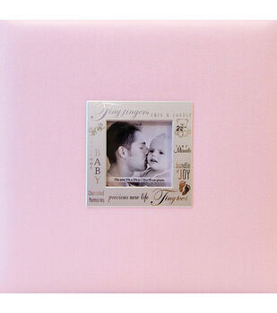 """8""""x8""""Expressions Postbound Album-Baby Girl"""