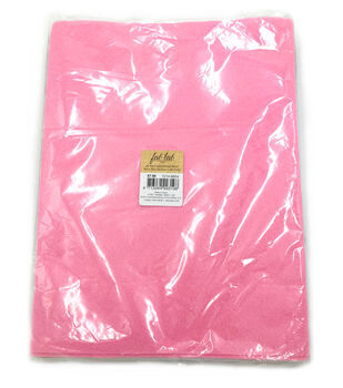 "Soft Felt - 9"" x 12"" - Pastels - Pack of 25 pieces"