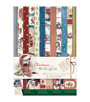 Docrafts Christmas With Wellington Ultimate A4 Die-Cuts & Paper Pack