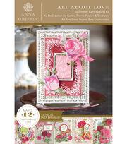 Anna Griffin So Smitten Cardmaking Kit, , hi-res