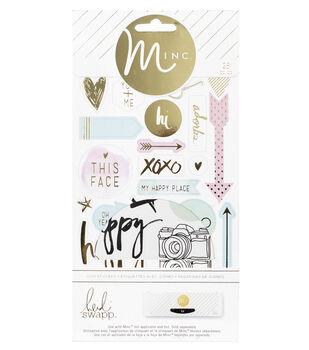 Heidi Swapp Minc Icon Stickers 26/Pkg