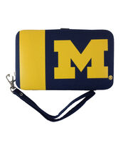 University of Michigan NCAA Shell Wristlet, , hi-res