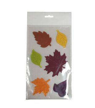 Art of Autumn Gel Cling-Leaves