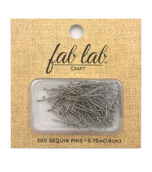 Seq Pin 3/4in Silver -12pk