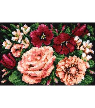 """Wonderart Classic Latch Hook Kit 20""""X30""""-Floral D'vine"""