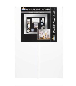 "Elmer's 36""x48"" Foam Tri-Fold Display Board-1PK/White"