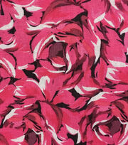 Keepsake Calico™ Cotton Fabric-Packed Roses Pink, , hi-res
