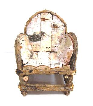 Fairy Garden Birch Chair