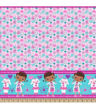 Disney® Junior Doc McStuffins Doc And Lambie Mock Smock Fabric