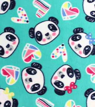 Blizzard Fleece Fabric-Sweet Panda