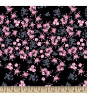 Disney® Mickey Mouse Floral Cotton Fabric, , hi-res