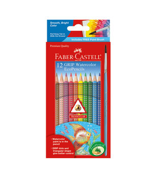 12 Ct Watercolor Grip Eco-Pencils