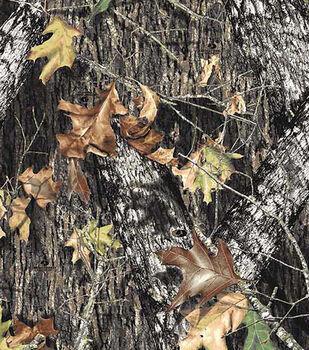 Mossy Oak Breakup Fleece Fabric