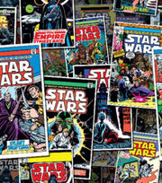 Star Wars Comic Book Covers Cotton Fabric, , hi-res