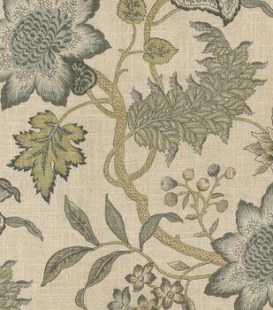 Waverly Upholstery Fabric-Jacobean Flair Vermeil