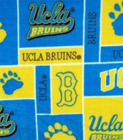 UCLA NCAA Block Fleece Fabric, , hi-res