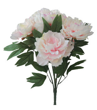 "Bloom Room 19.5"" Home Inspirations Peony Bush-Pink"