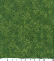 Keepsake Calico™ Cotton Fabric-Dark Green Viney Tonal Leaf, , hi-res