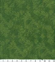 Keepsake Calico™ Cotton Fabric-Dark Green Viney Tonal Leaf, , hi-res