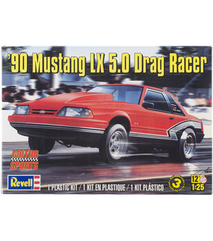 Revell '90 Mustang LX 5.0 Drag Racer Plastic Model Kit