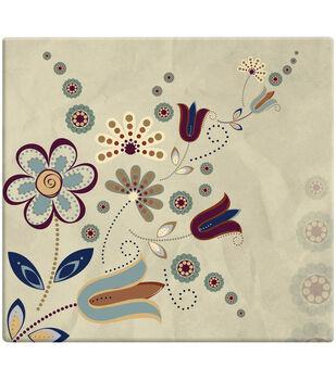 "MBI Designs Scrapbooks 12""X12""-Folk Floral"