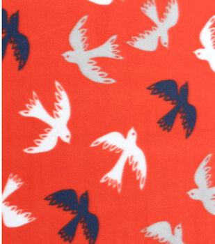 Blizzard Fleece Nautical Sparrows