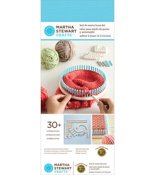 Martha Stewart Crafts Knit And Weave Loom