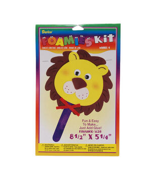 Darice Foamies Face Kit-Lion