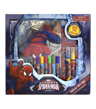 Spiderman Deluxe Art Set
