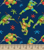 Nickelodeon Teenage Mutant Ninja Turtles Cowabunga Flannel Fabric, , hi-res