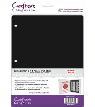 Crafter's Companion EZMagnetic 2-N-1 Storage Panels Full Size