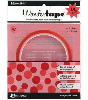 """Ranger 1/2""""x15' Inkssentials Redline Wonder Tape"""