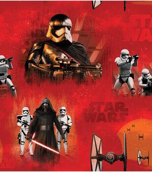 Star Wars VII  Villains Fleece Fabric