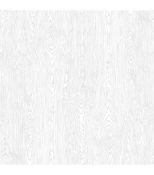 "American Crafts Textured Cardstock 12""X12""-White Woodgrain"