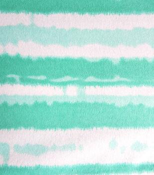 Snuggle Flannel Fabric-Bermuda Stripe Tiedye