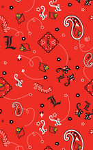 University of Louisville NCAA Bandanna Print Cotton Fabric, , hi-res