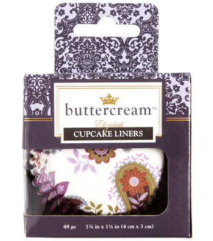 Buttercream™ Elizabeth Collection Designer Cupcake Liners