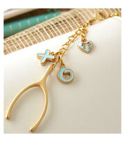 Webster's Pages Charm Embellishment-Lucky In Love, , hi-res